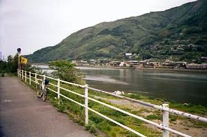 肱川河口付近