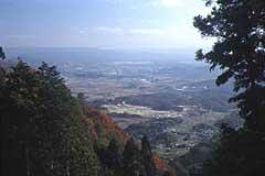 御斉峠からの展望