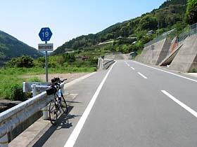 県道19号大田井町付近