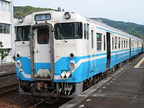 海部行き普通列車