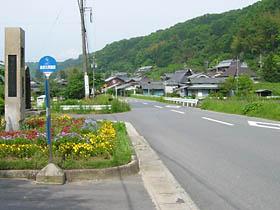 治田付近の国道25号