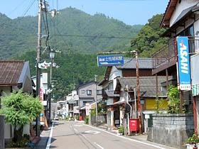 土佐昭和駅付近