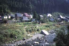 坊村の集落