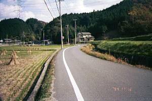 福住付近の国道25号