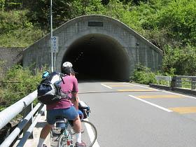 国道424号・白馬トンネル