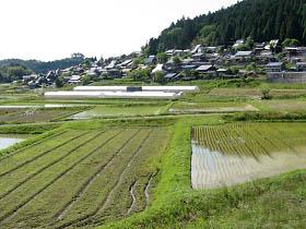 神吉の集落