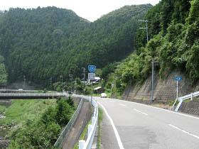 国道370号松ヶ峰付近
