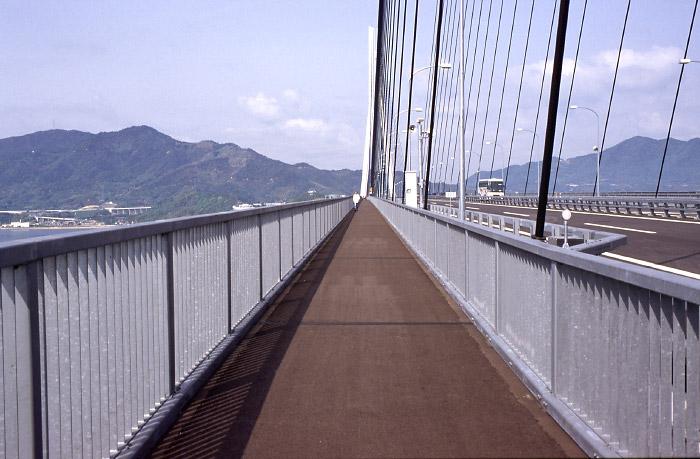 多々羅大橋橋上