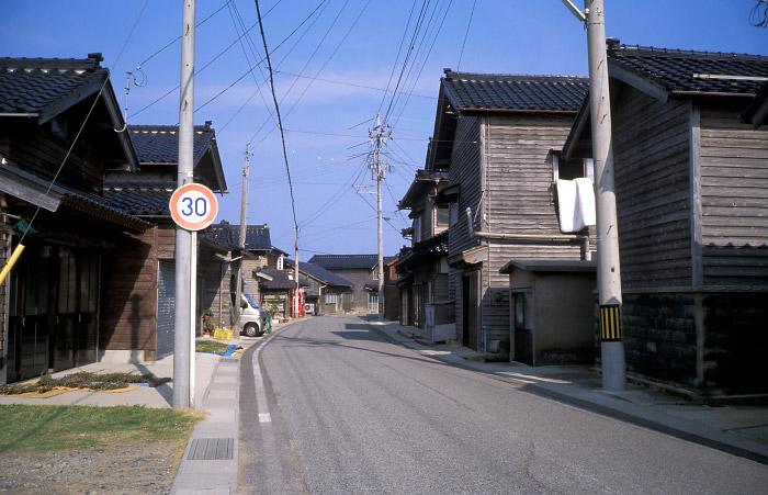 赤崎の町並み