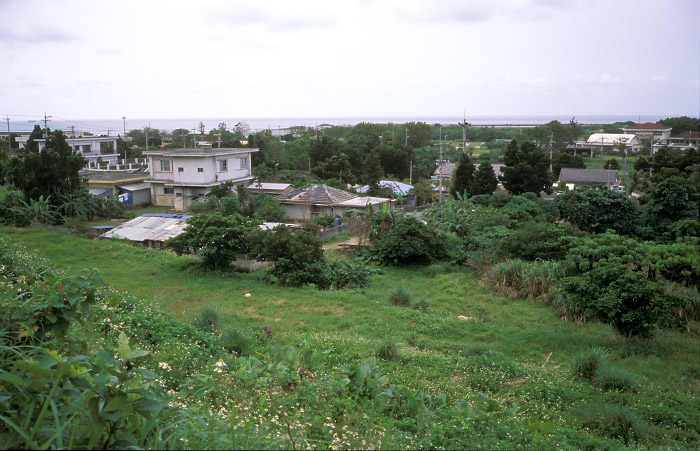 比川の集落