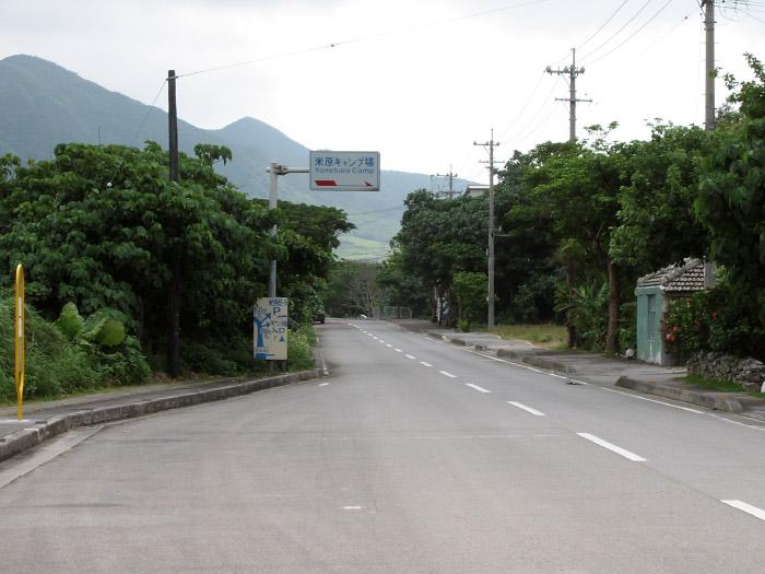 米原キャンプ場付近